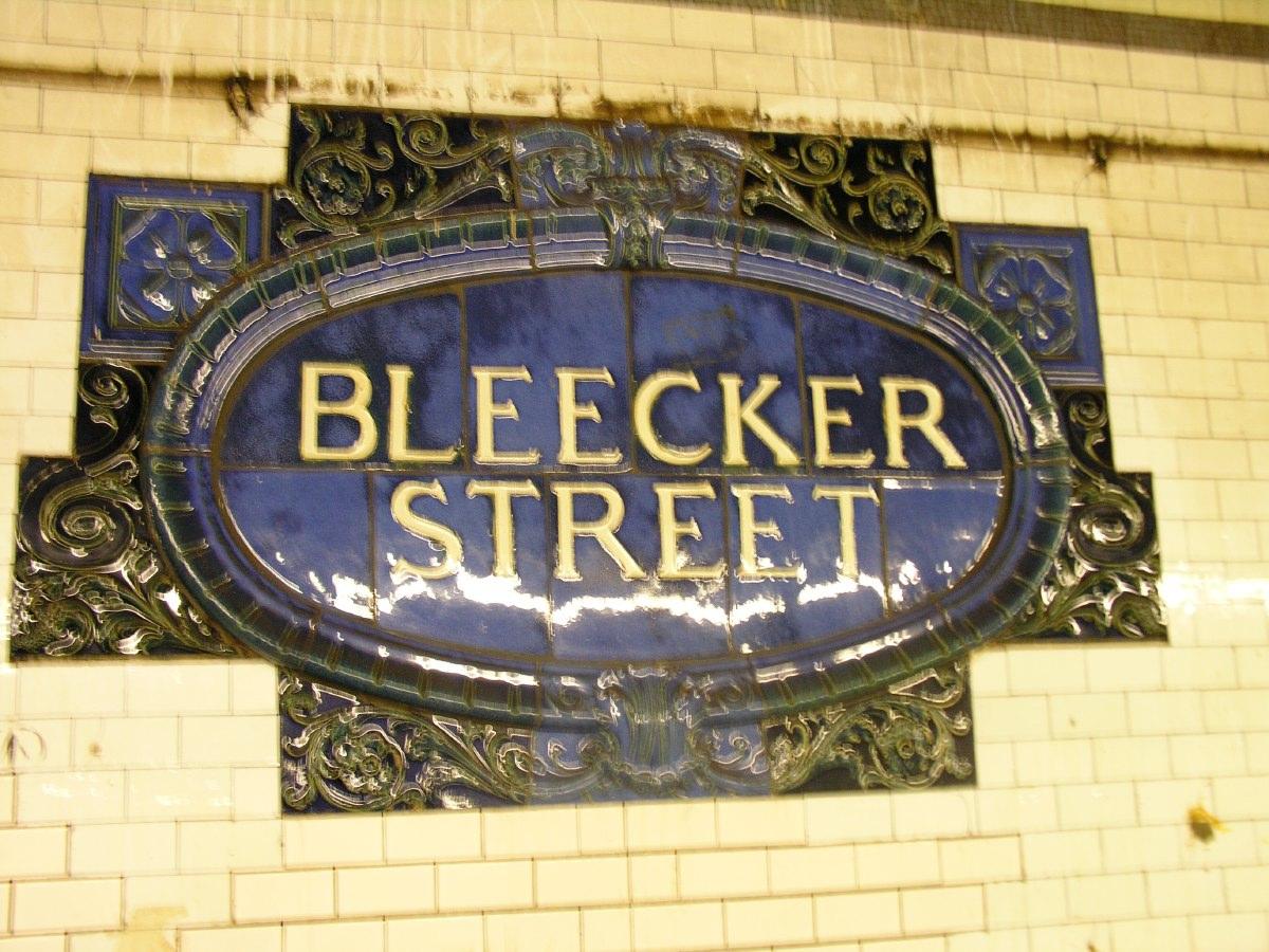 Bleeker Street subway station