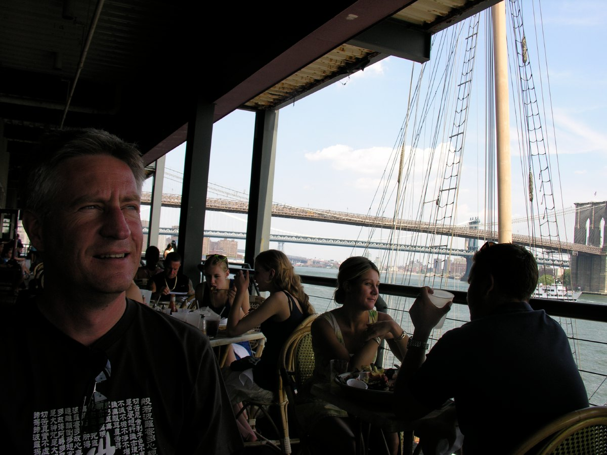 Lunch at South Street Seaport