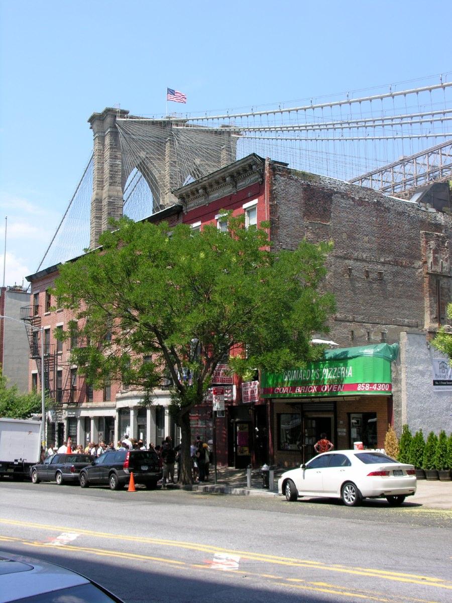 Glimpse of Brooklyn Bridge