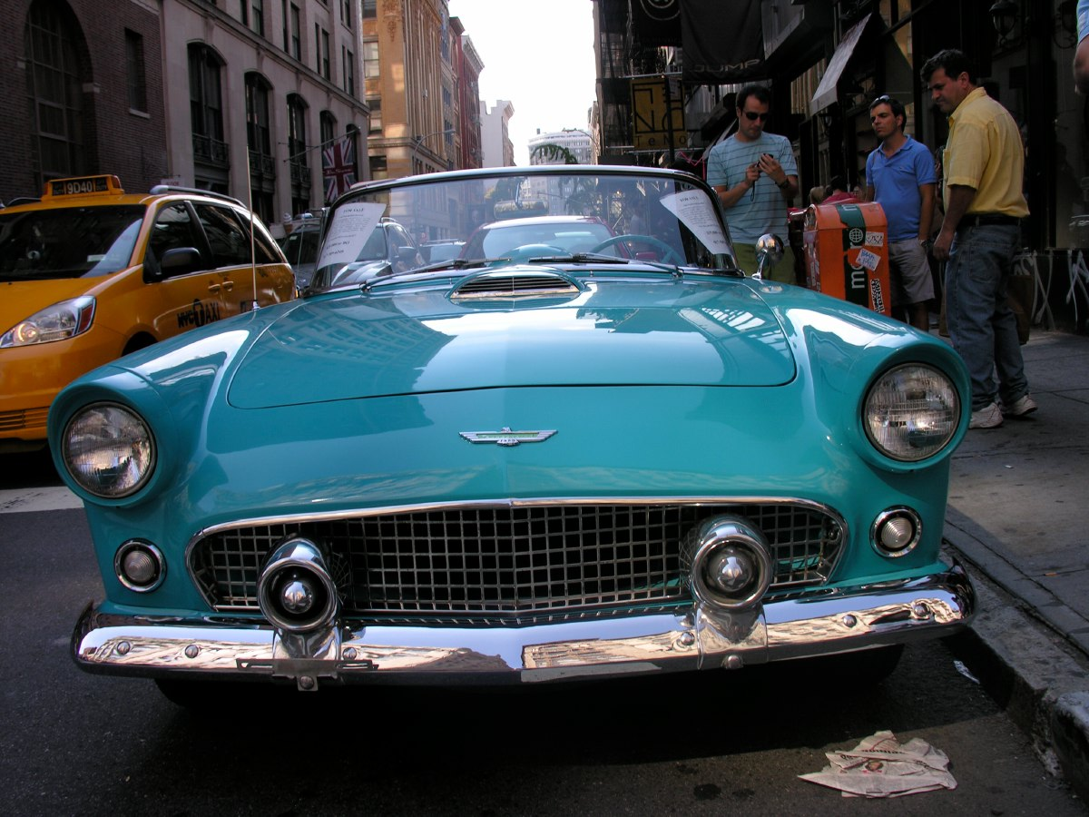 1955 or 1956 Ford Thunderbird