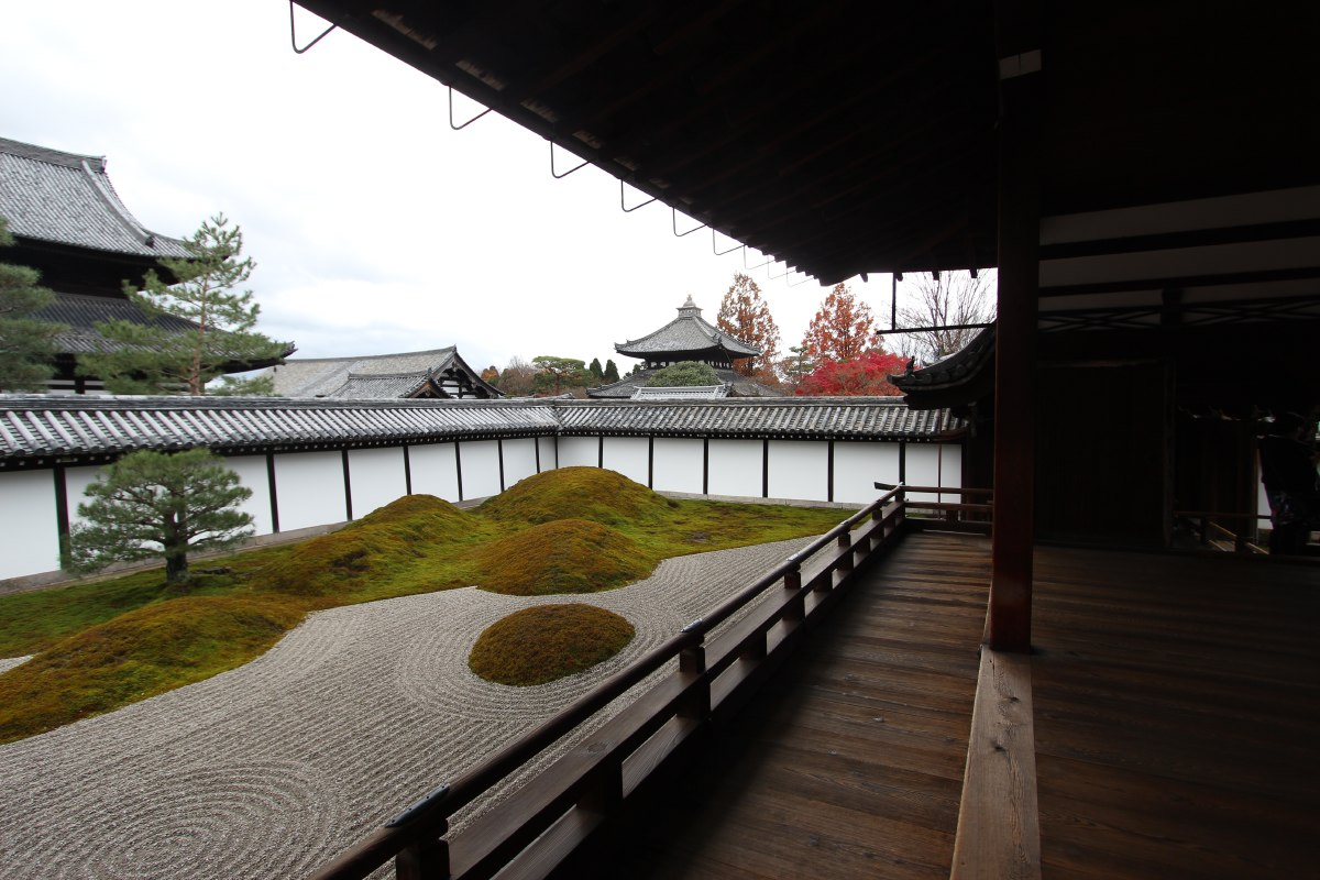 Tofuku-ji temple, in the south of Kyoto