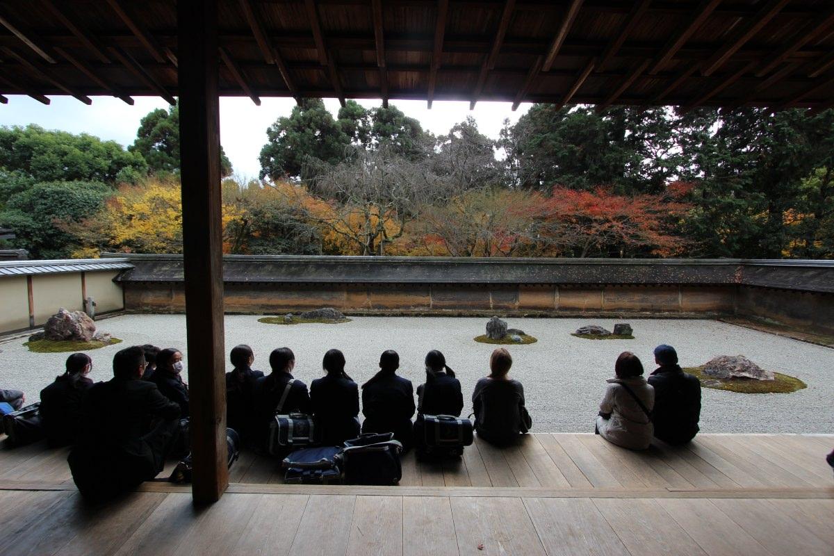 Ryoan-ji, in northern Kyoto