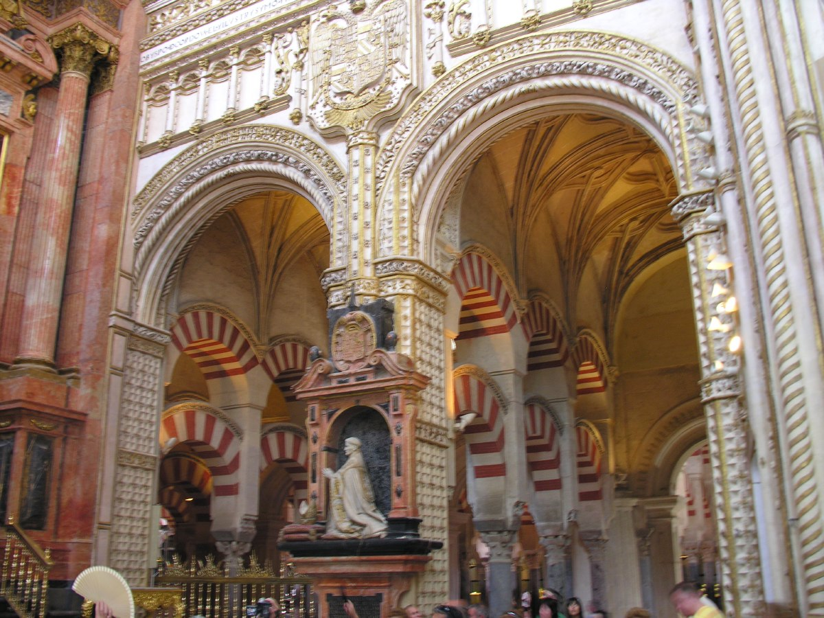 The heart of the Mezquita was destroyed in 1523 to make room for a catholic cathedral