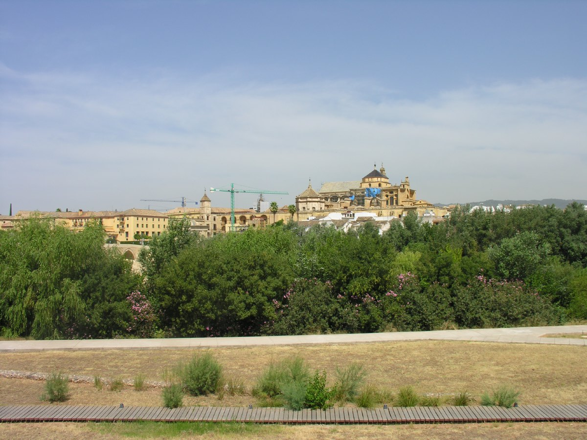 Our first city trip was to Cordoba, north of Antequera.