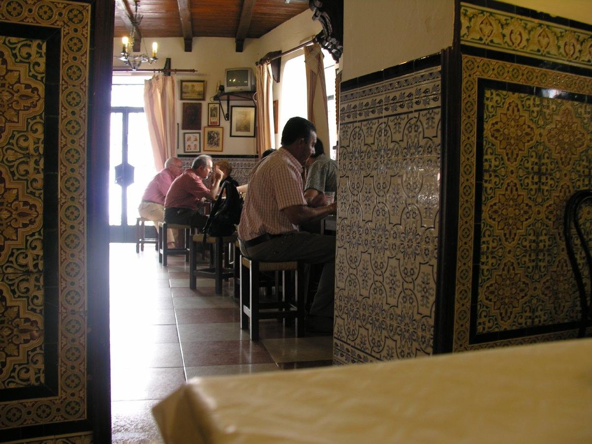 Tapas lunch restaurant