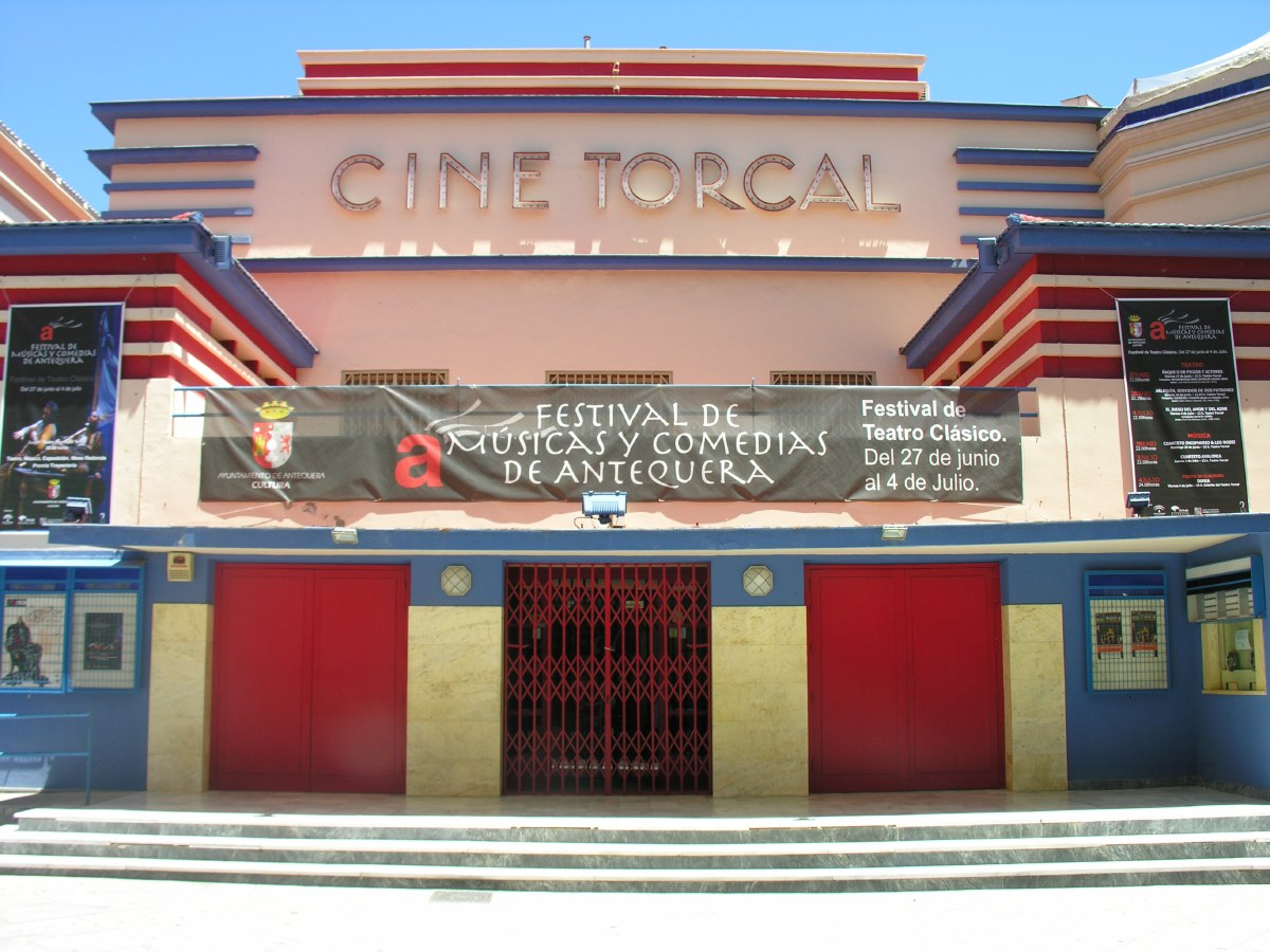 Downtown cinema in Antequera