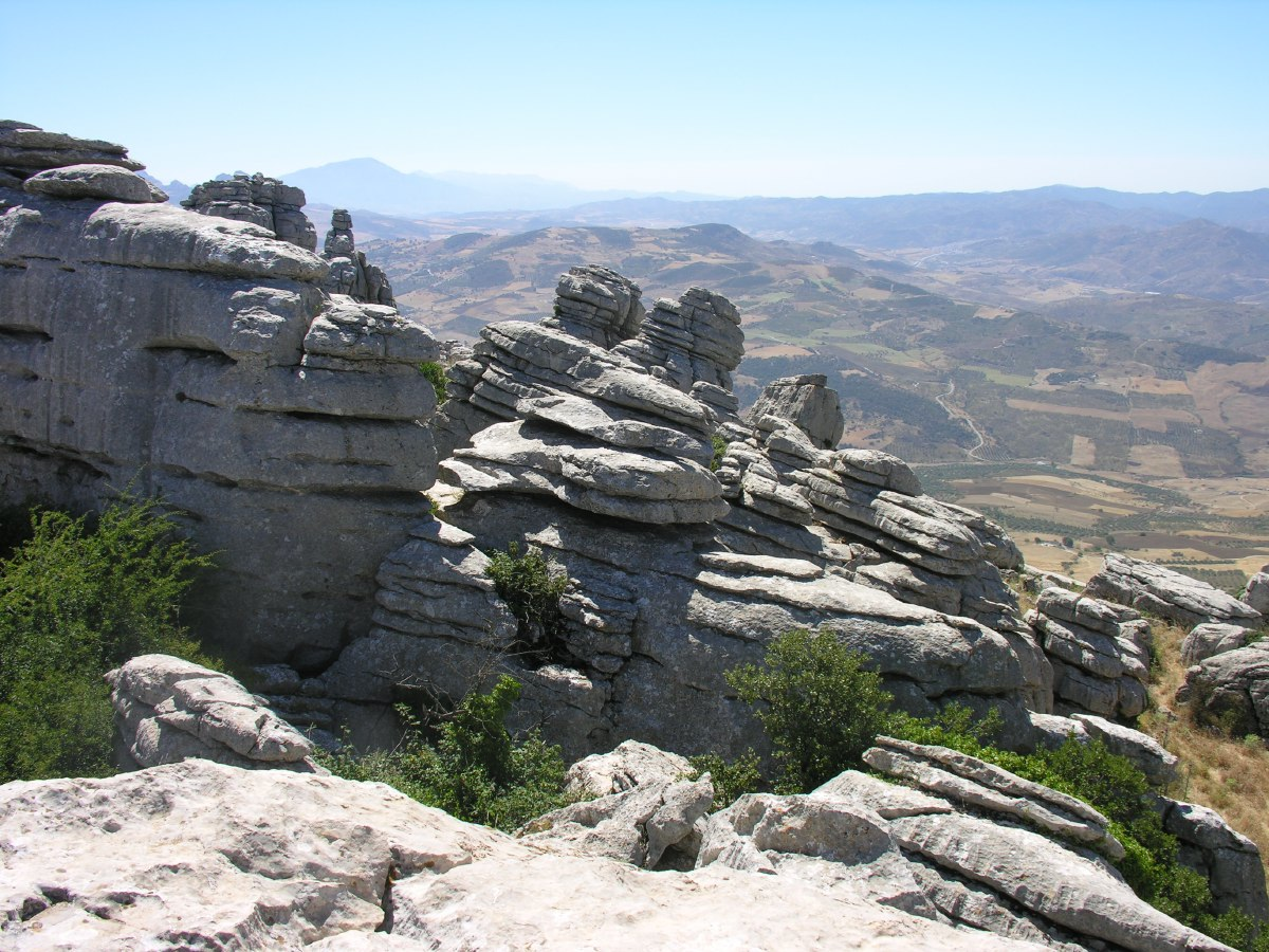 Parque Natural del Torcal. A great place for hiking.