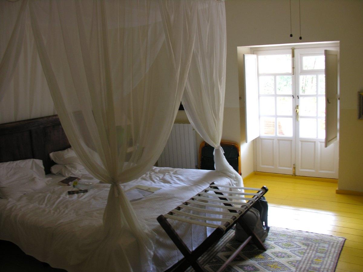 Our room in La Fuente de la Higuera, near Ronda