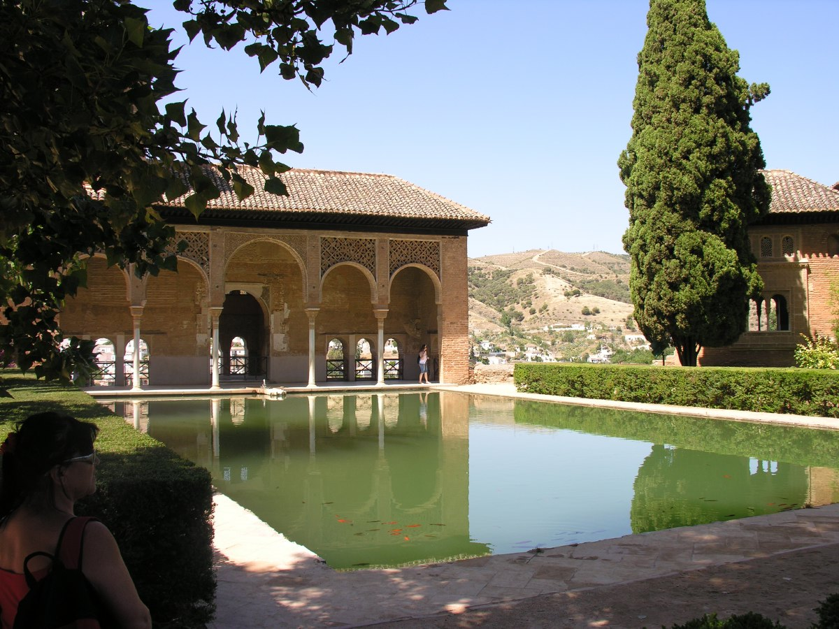 The Partal, one of the palaces of the complex