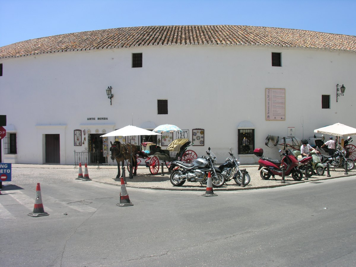 Built in 1785, the Plaza de Toros in Ronda is one of the oldest operational bullrings in Spain.