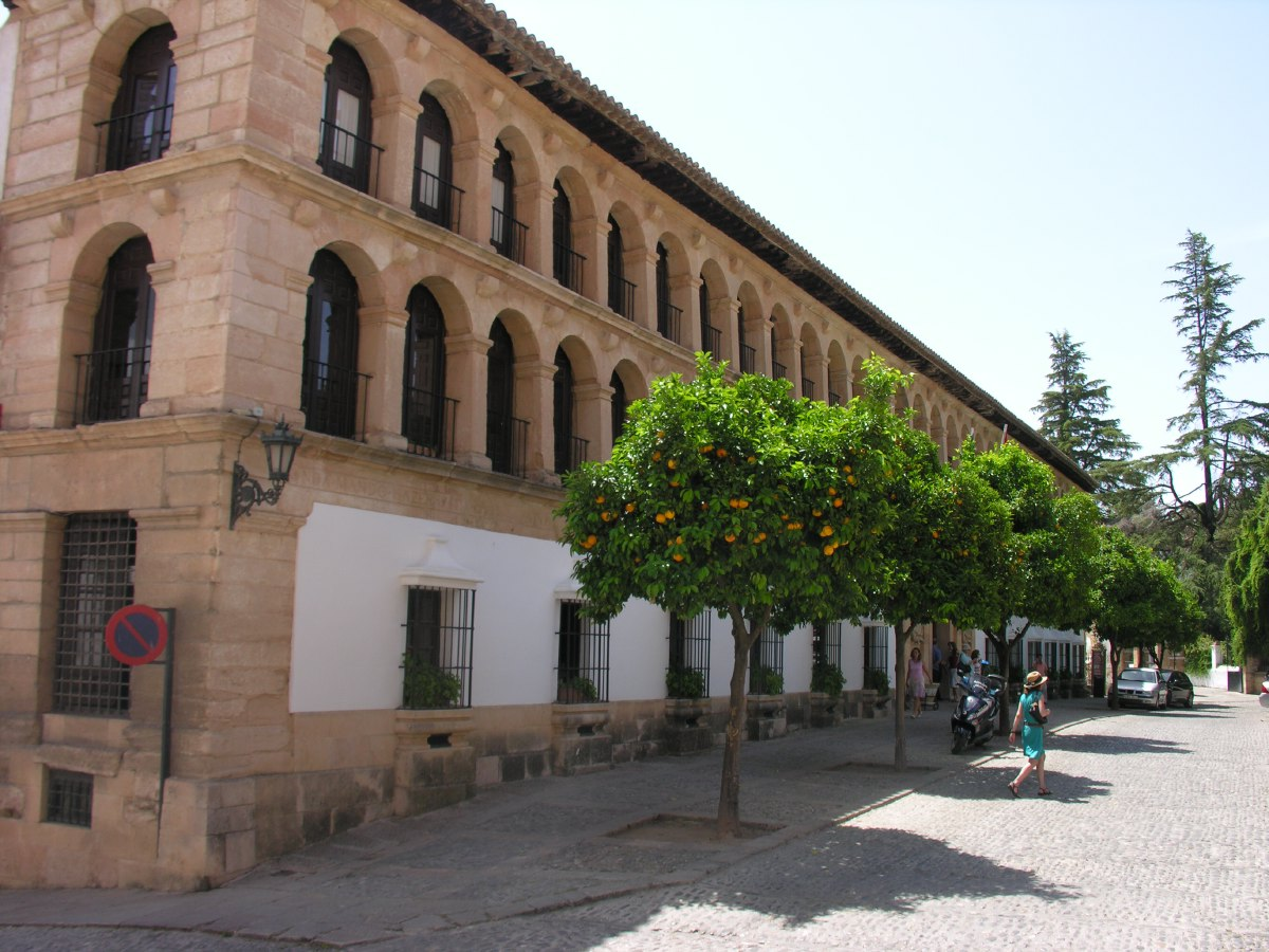The old part of Ronda