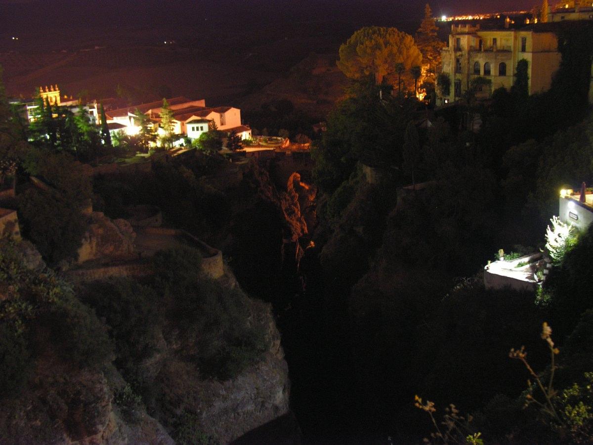 Ronda at night
