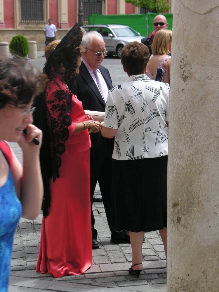 Wedding in the cathedral