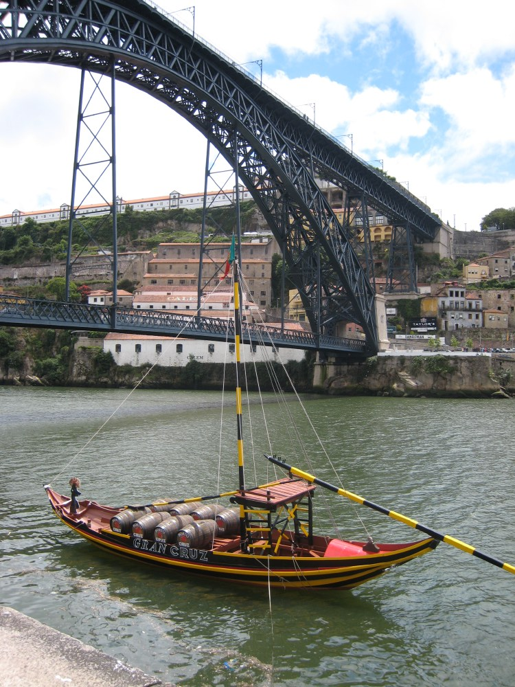 Porto is world-famous as the heart of the port wine trade, but it is also an important industrial centre. It has oil refineries and textile factories.