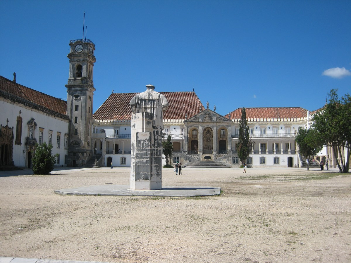 The university building was originally the royal palace, and before that a Moorish fortress.