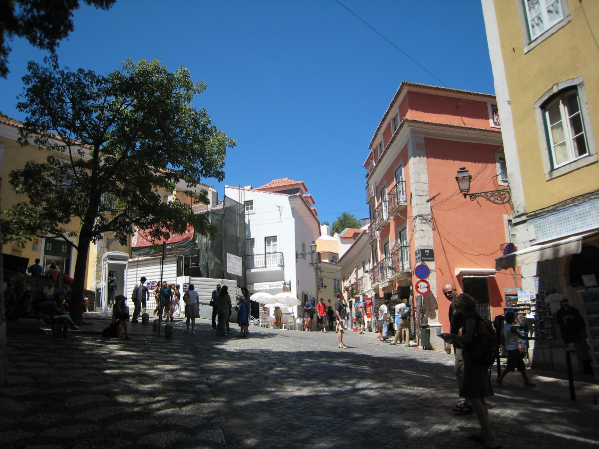 Alfama is a picturesque district, built on one of the seven hills of Lisbon. The streets are very steep and the stairs numerous...