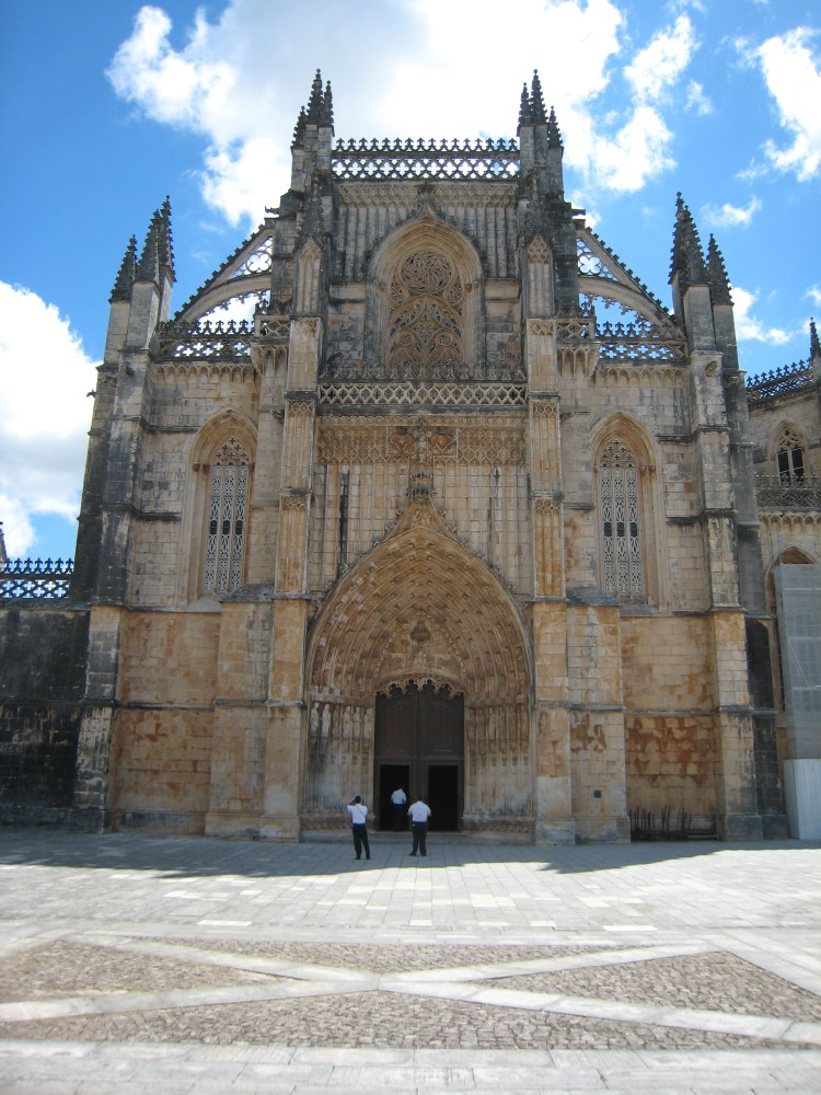 The west portal is richly decorated with statues of apostles, prophets, saints, kings and angels, altogether 78 figures.