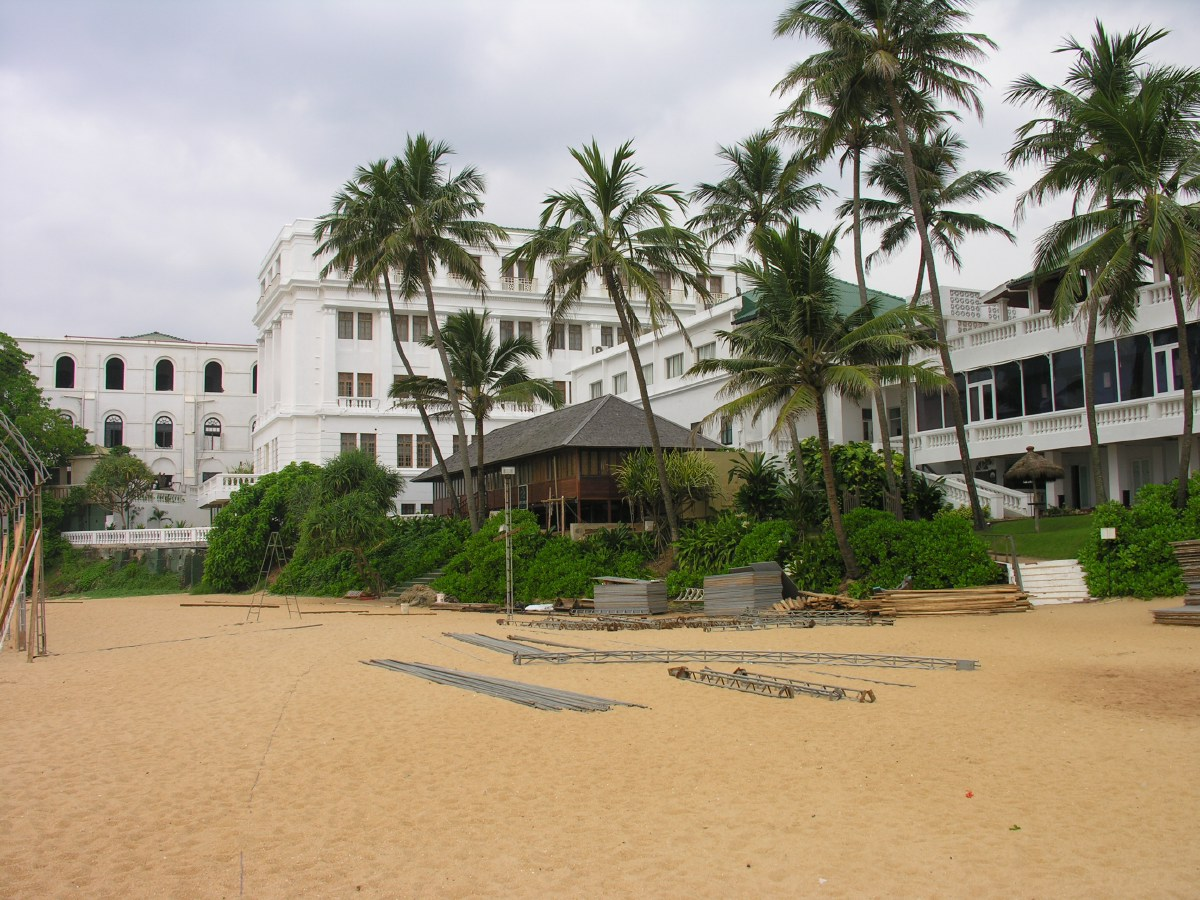 The Mount Lavinia Hotel is one of the oldest hotels in Colombo