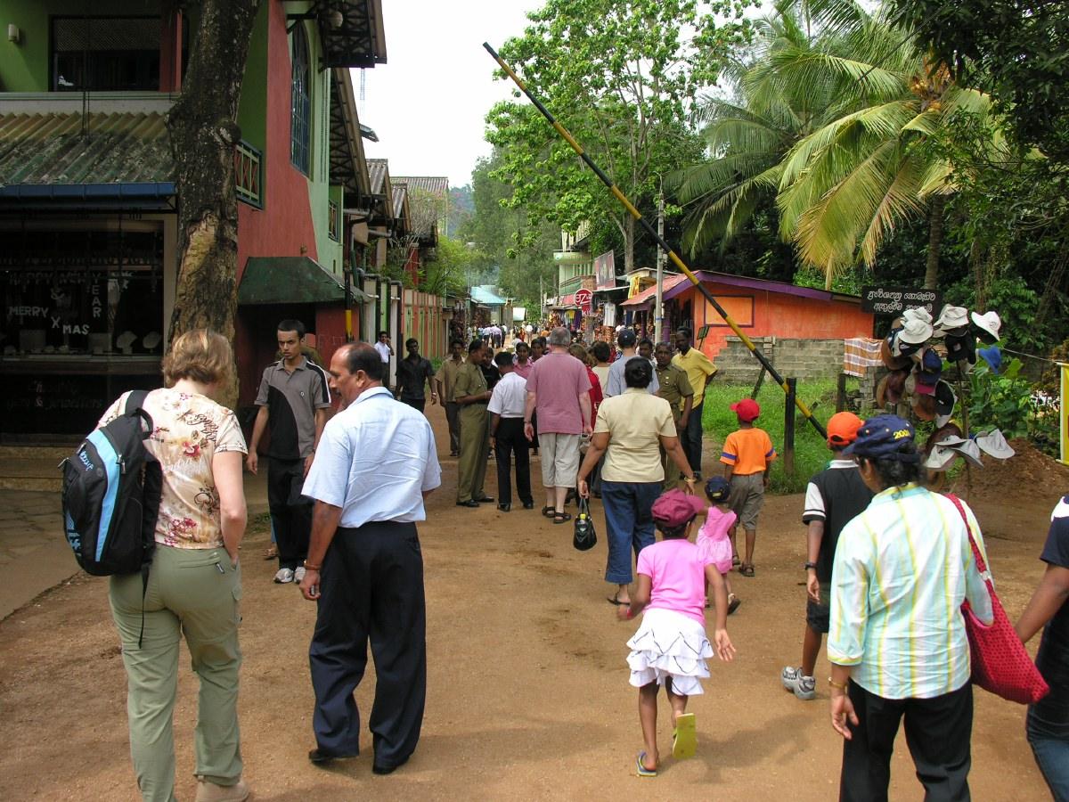 Entrance to the Pinnawela Elephant Orphanage