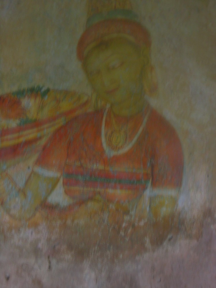 Some frescoes can still be seen, though unfortunately now much faded.