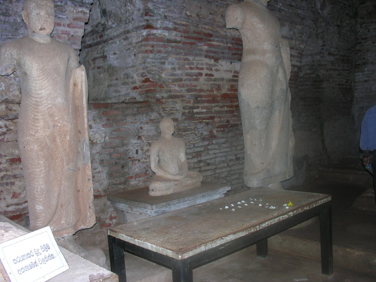 Hatadage, the Shrine of Sixty Relics