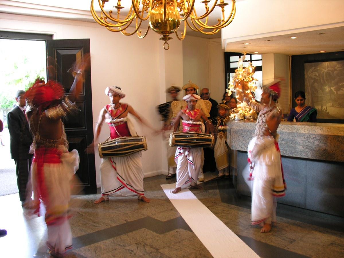 Kandy wedding