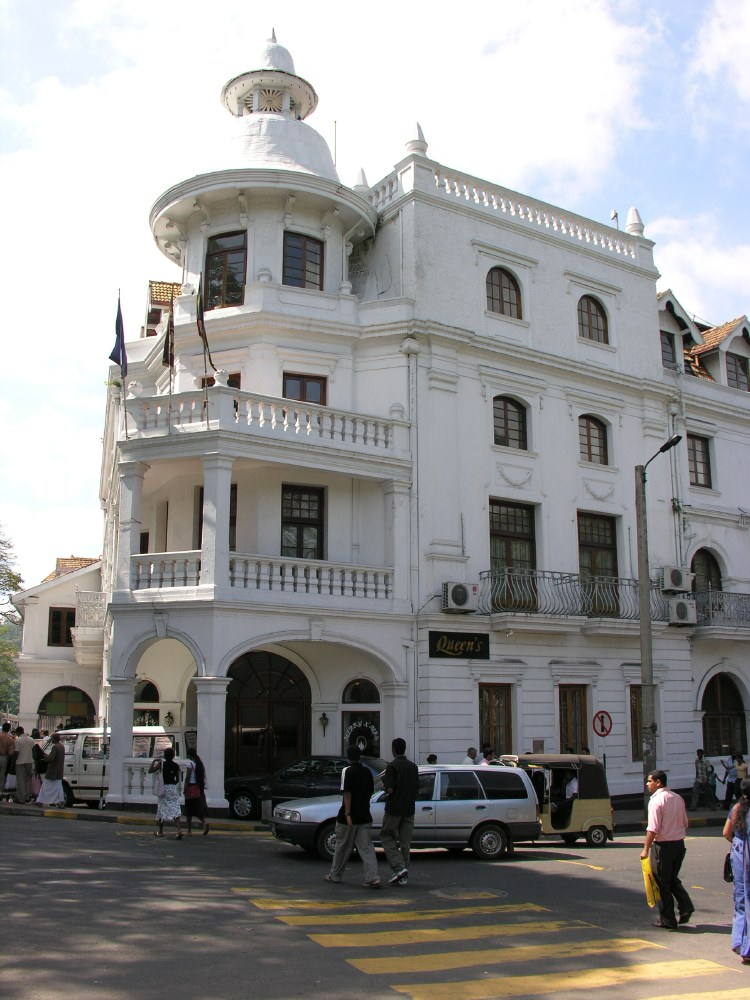 The Queens Hotel in Kandy
