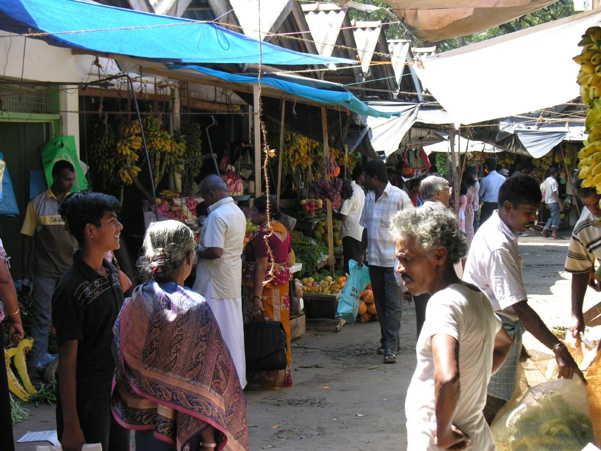 Kandy local market