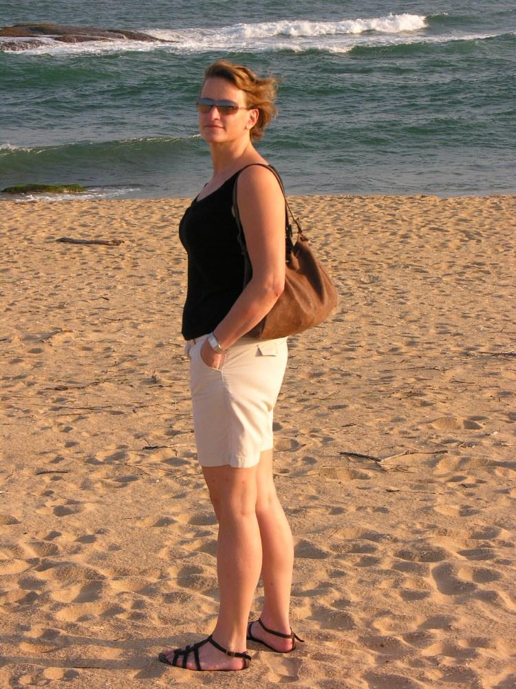Vie on the beach
