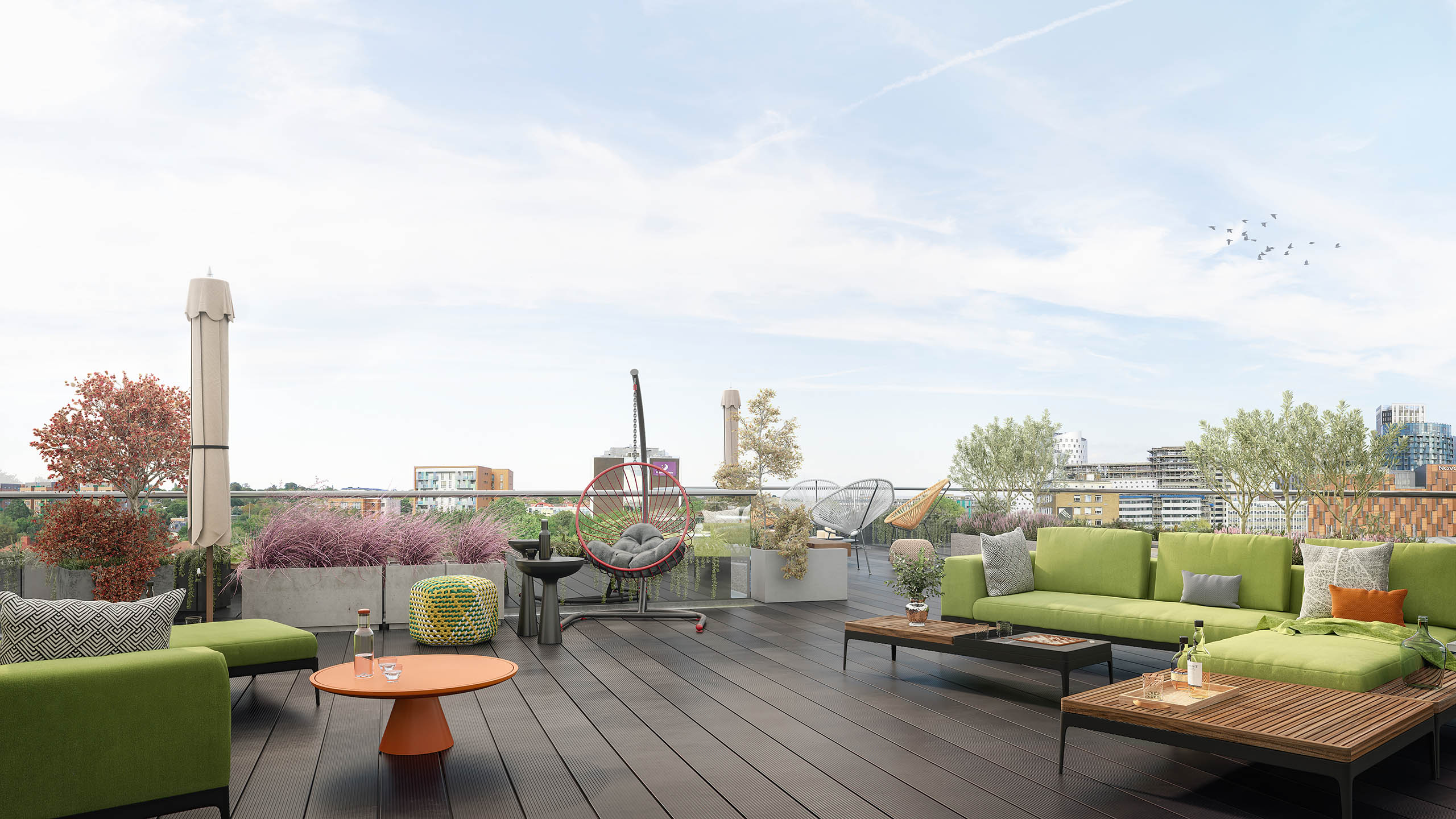 Empire One roof terrace
