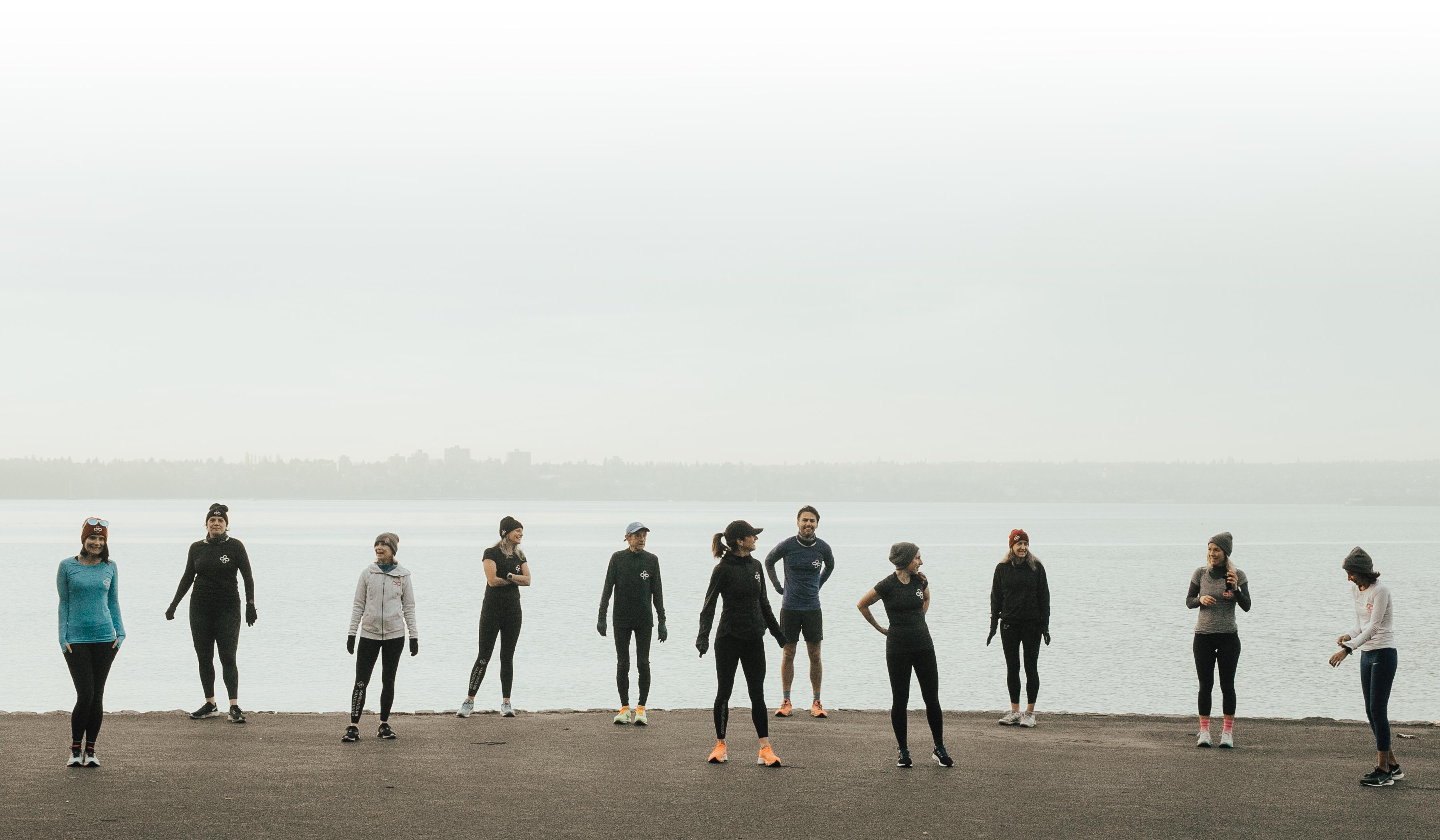 Run club members