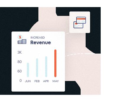 Increased revenue chart