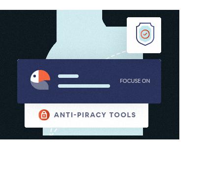 Anti piracy Tools Setting Icon