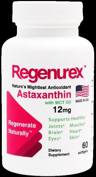 Regenurex Astaxanthin 12mg USA
