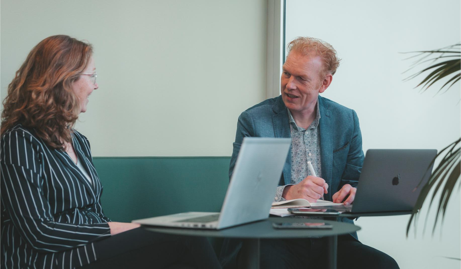 Jacco van der Zee van GewoonC in gesprek als Gallup CliftonStrenghts coach en business coach