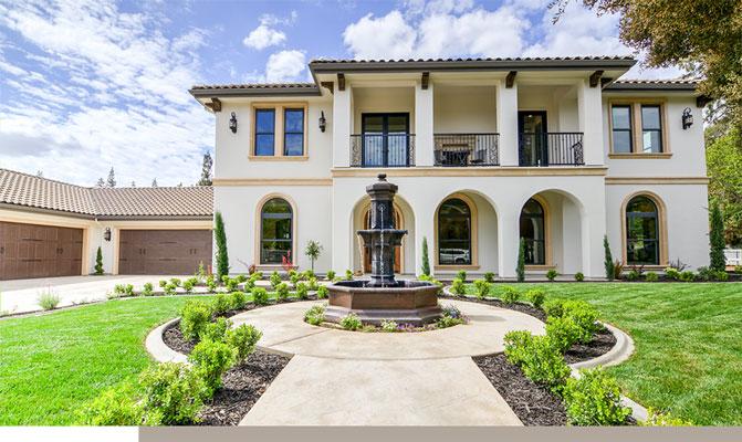 Custom designed residential home