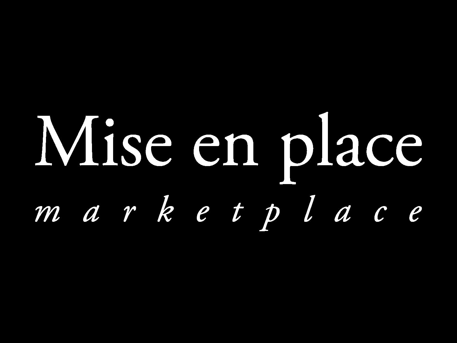 Mise en Place Marketplace logo