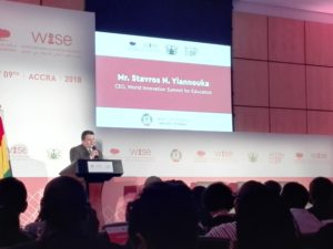 Mr. S.N Yianoukka, CEO World Innovation Summit for Education