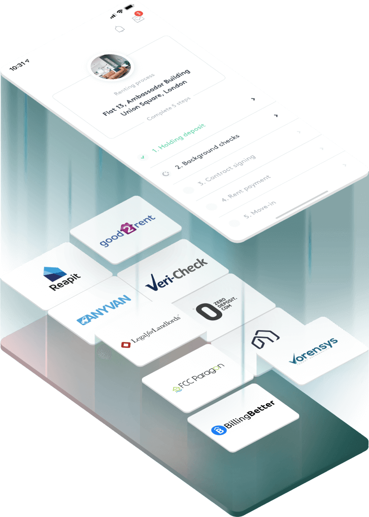 Property management system and service providers unified to one platform