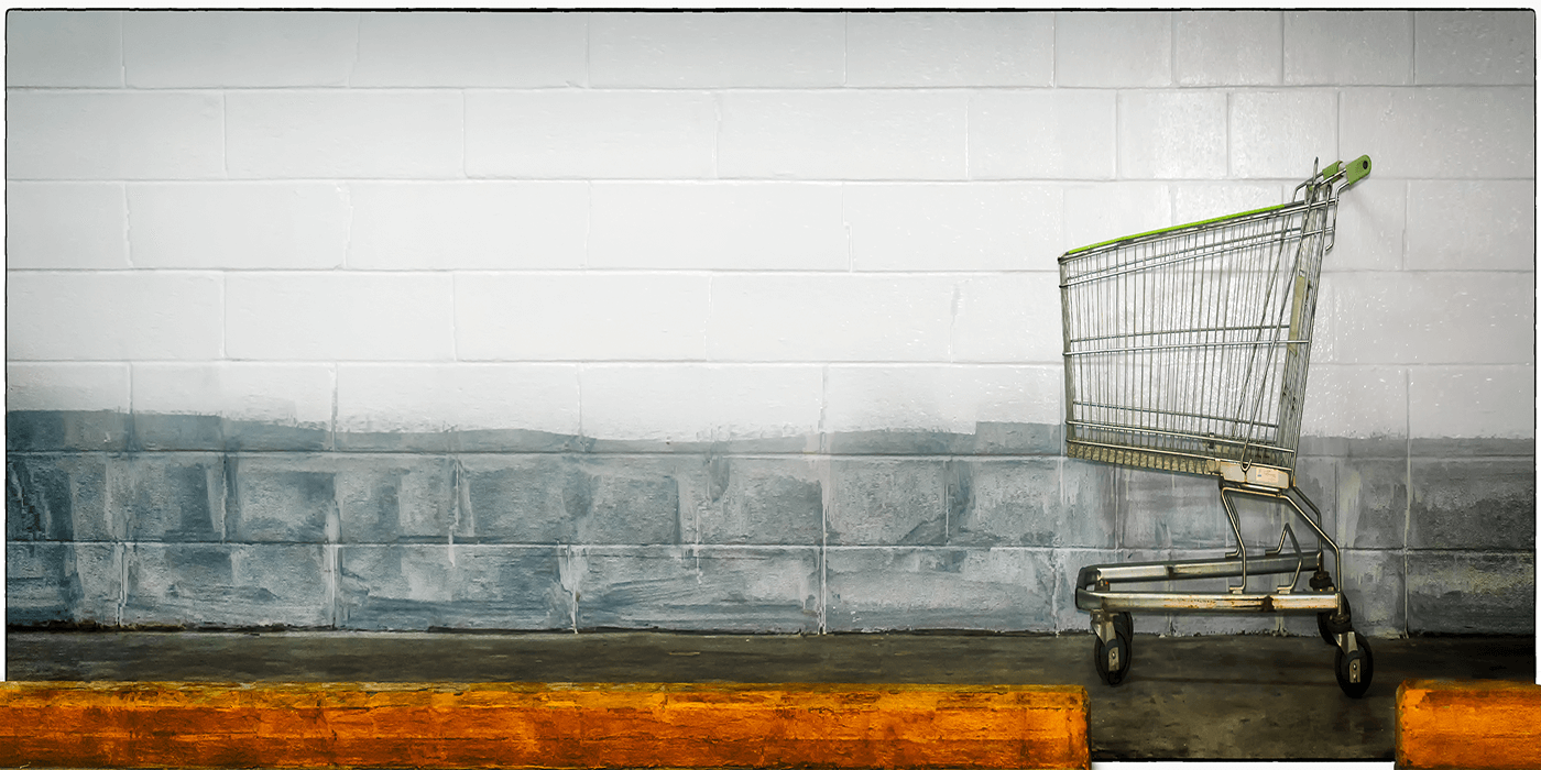 Shopping cart abandonment. The struggle is real.