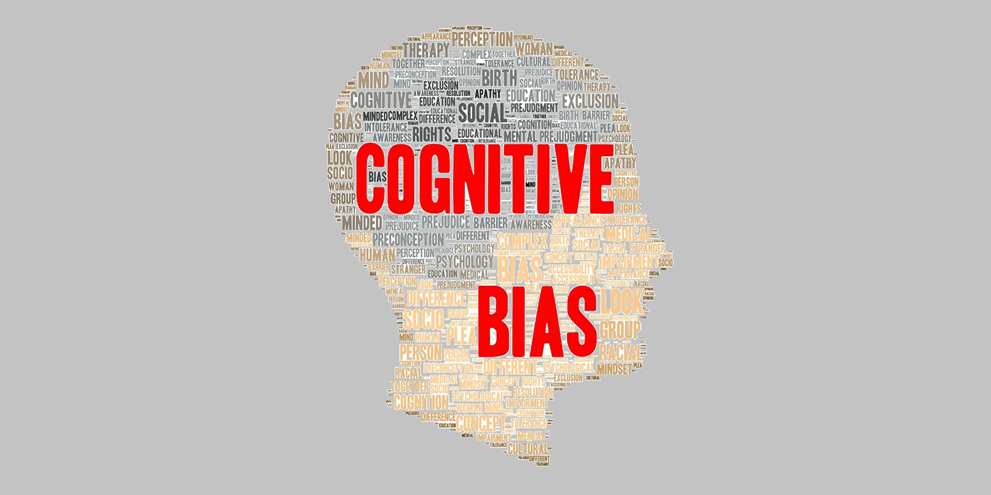 How to avoid cognitive bias in research & design.