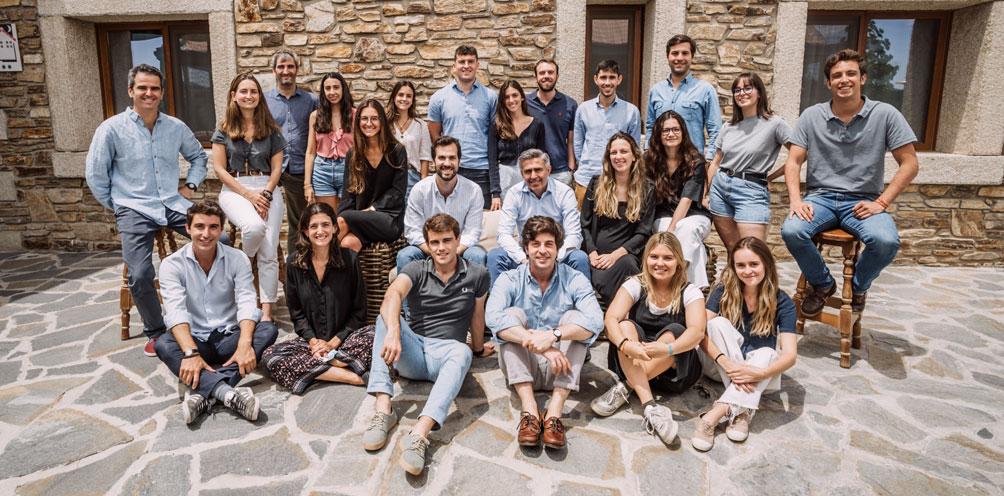 Foto grupal del equipo