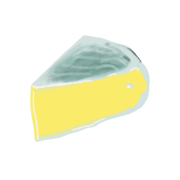 French Cheese Illustration