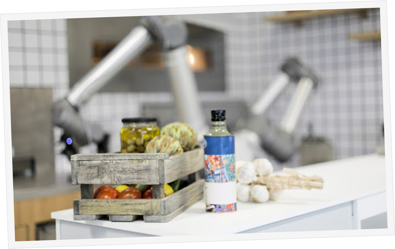 Kitchen & Robot Picture
