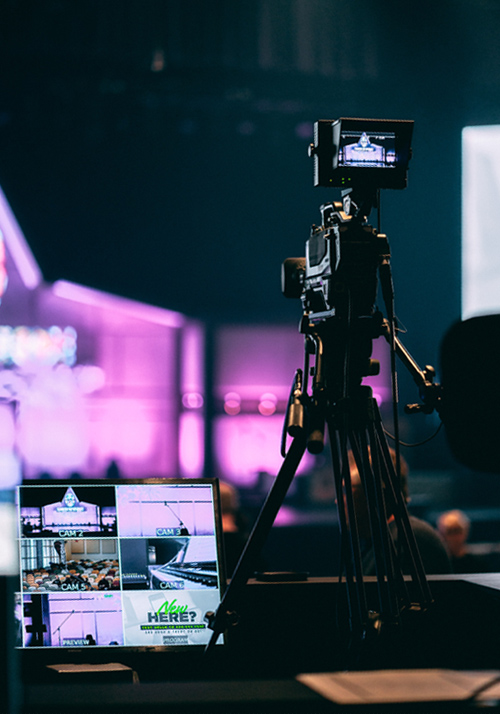 Live video production and multi camera event experts