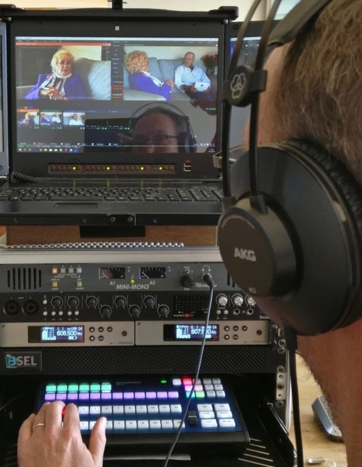 Live video conference and event and production company