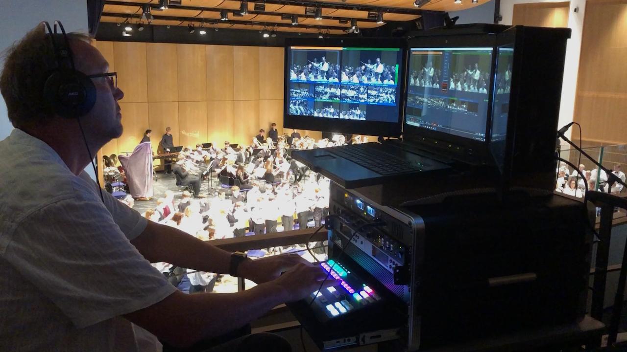 Expert live multi camera video production company