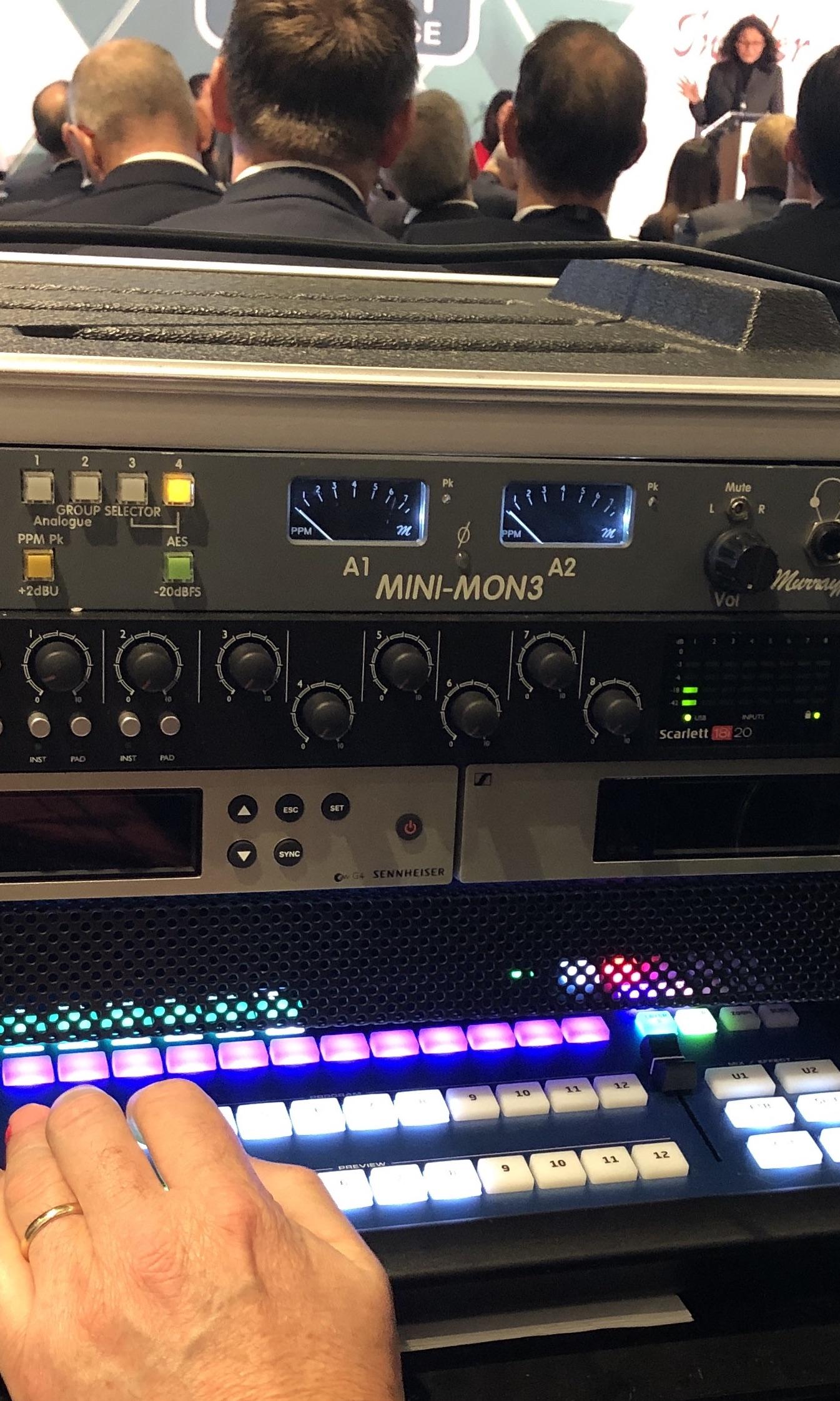 Live multi camera video production company