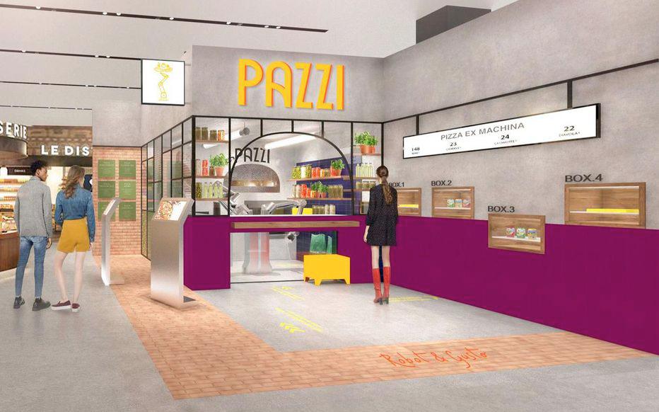 Pazzi, un restaurant où le pizzaïolo est un robot !