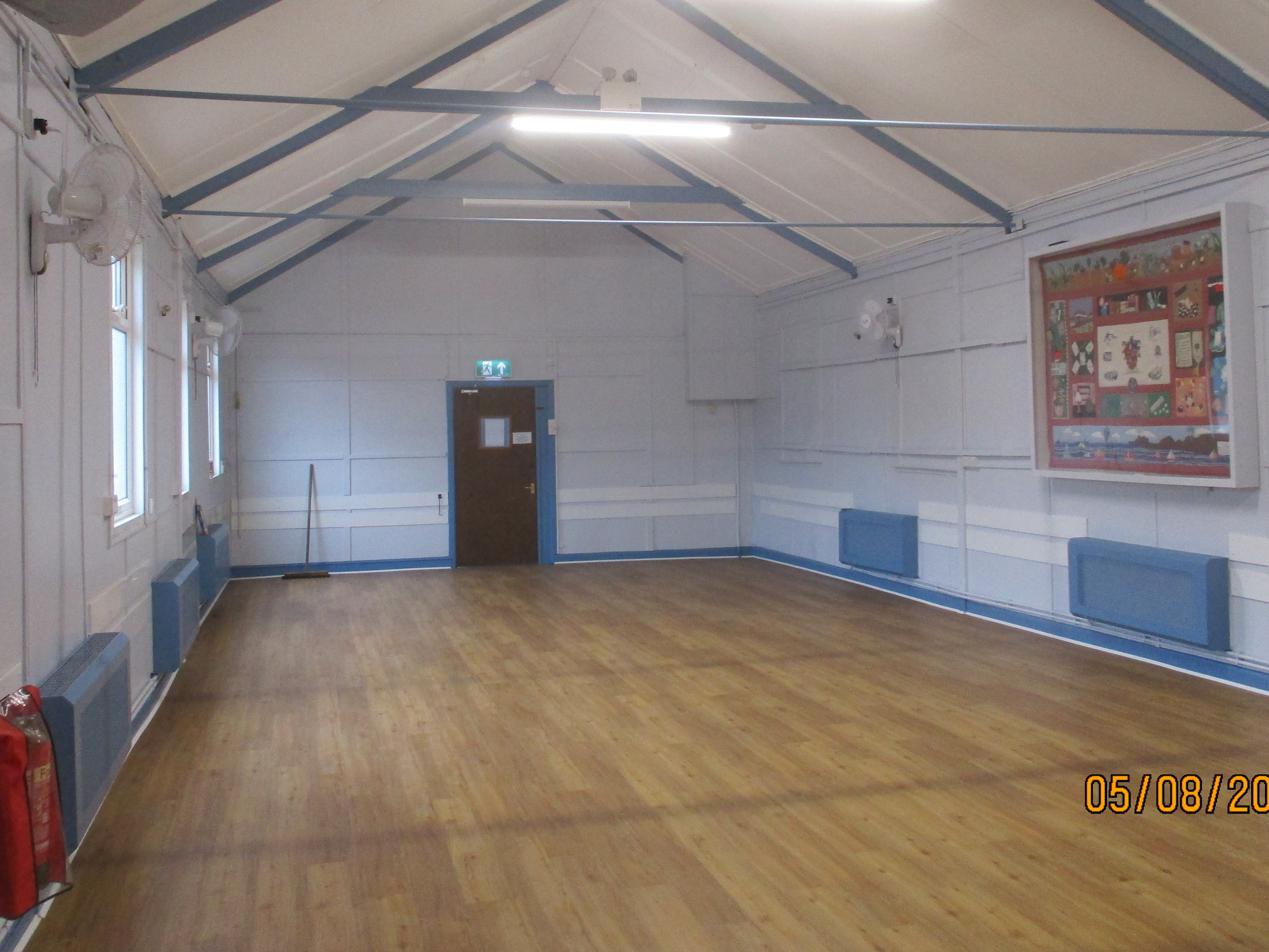 Main hall interior